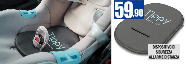 TIPPY Dispositivo di sicurezza per seggiolino auto