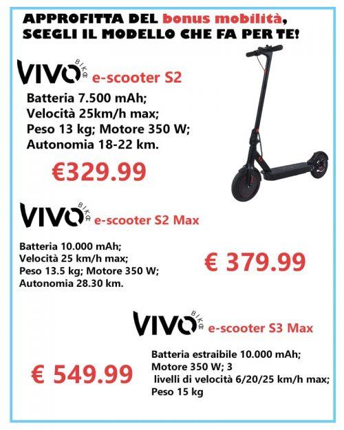 Vivobike: Approfitta del bonus mobilitá, scegli il modelllo che fa per te!