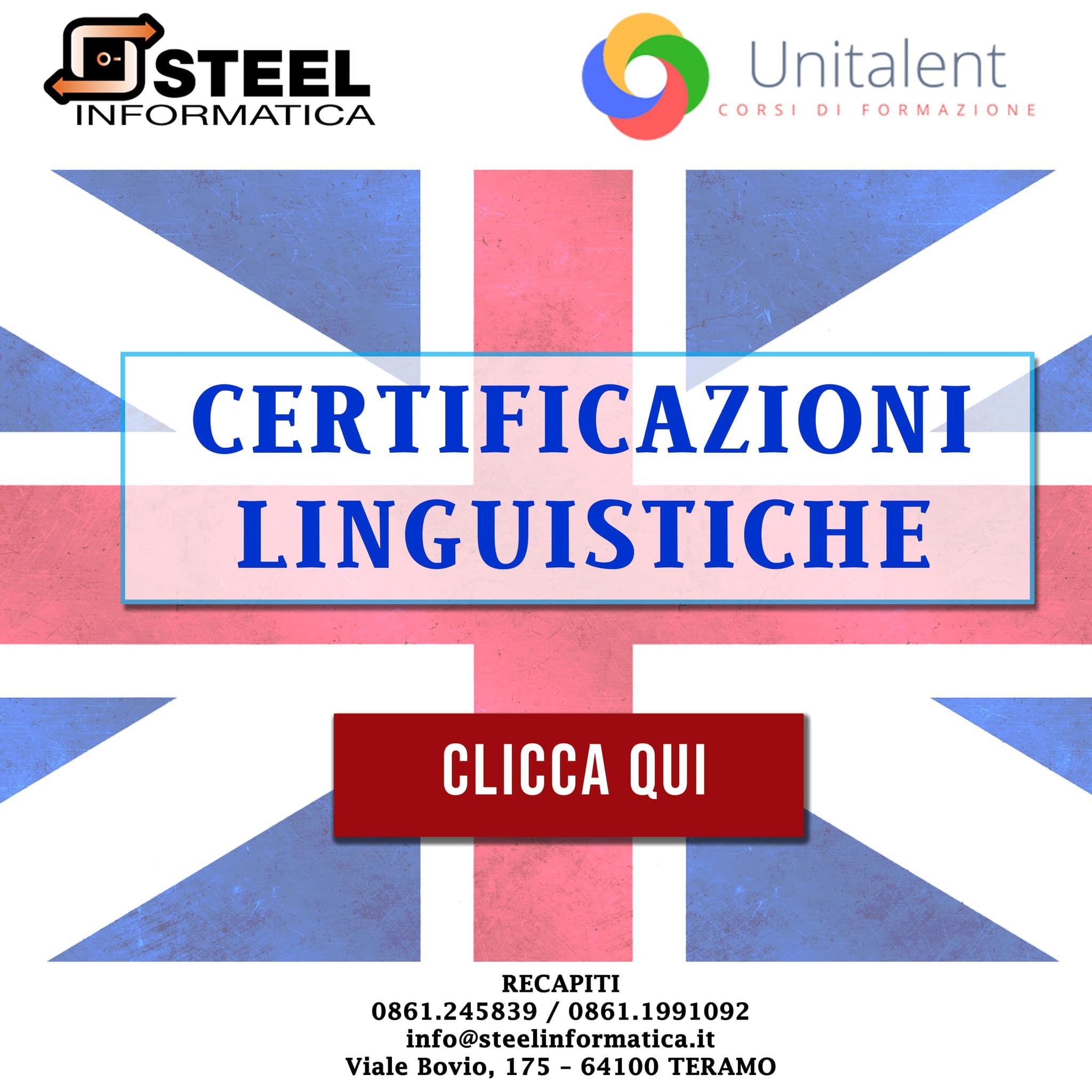 Certificazione lingua inglese fino a 6 punti!